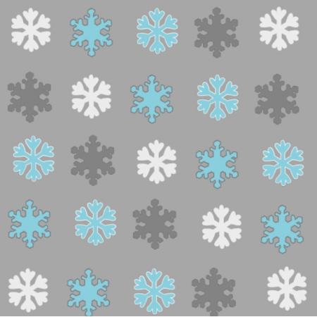 Fabric 25671 | Zimowe śnieżynki