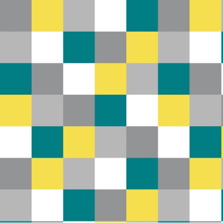 Fabric 25736 | kratka yellow / grey small