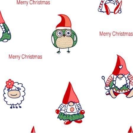 25737   Krasnale świąteczne Merry Christmas