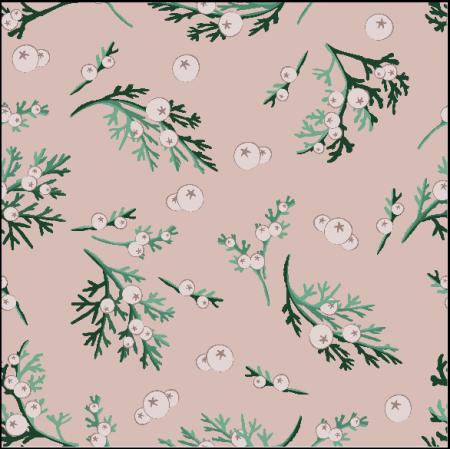 Fabric 25765 | Winter berries