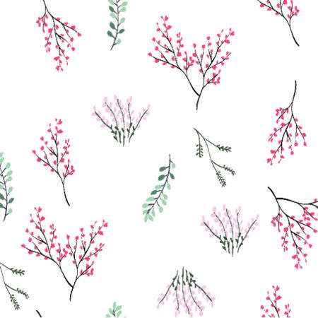 Fabric 25770 | Gałązki botanik