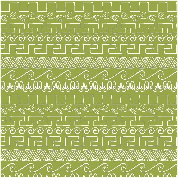 Fabric 2715 | Ancient greek ornaments