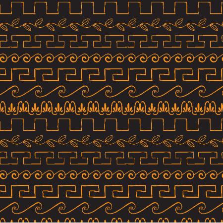 Fabric 2718 | greek ornaments