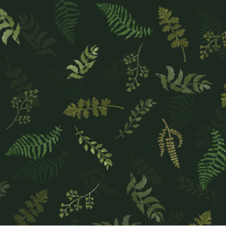 Fabric 25804   Leśne lIście