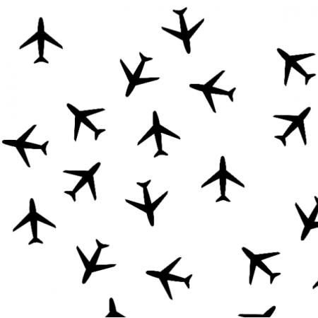 Fabric samoloty0