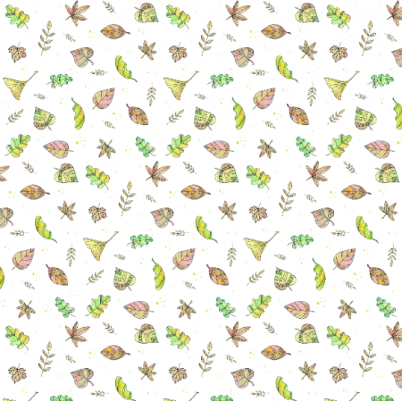Fabric 26032   Jesienne liście