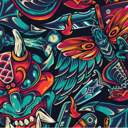 Fabric 26109 | TATUAŻ 3