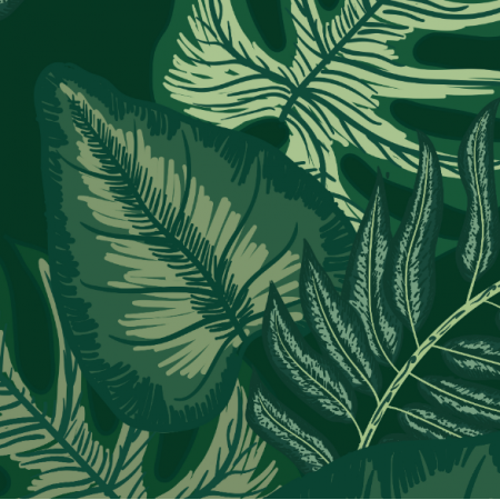 Fabric 26245 | TROPICAL LEAVES