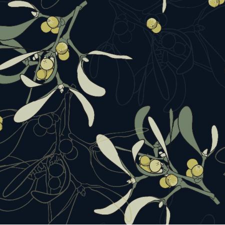 26250   MINIMALISTIC mistletoe GREEN