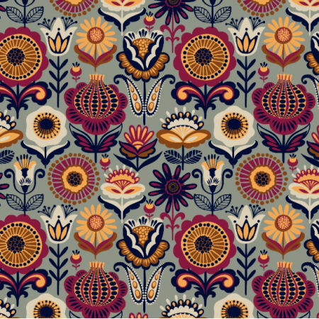 Fabric 26372 | floral 17