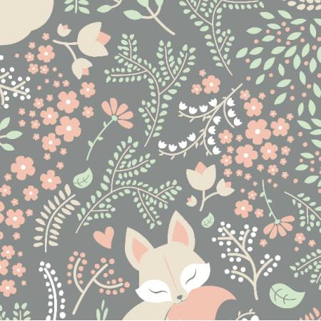Tkanina 2799 | sleeping fox