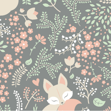 Fabric 2799 | sleeping fox