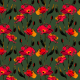 Tkanina 26750 | poppies