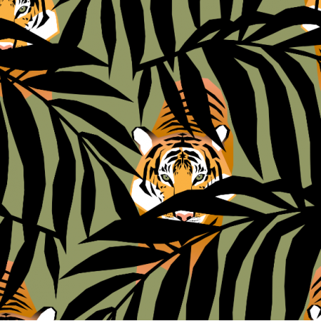 26751 | tigers in the jungle