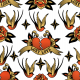 Fabric 26753 | old school tattoo