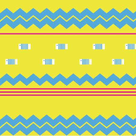 Fabric 26758 | rybki geometryczne