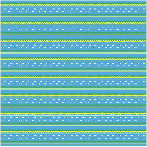 Fabric 26762 | Ryby geometryczne niebieskie