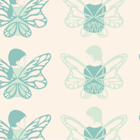 Fabric 26876 | Fairy chat mint