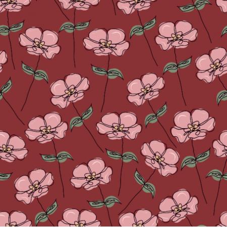 Fabric 26966 | vintage flower II