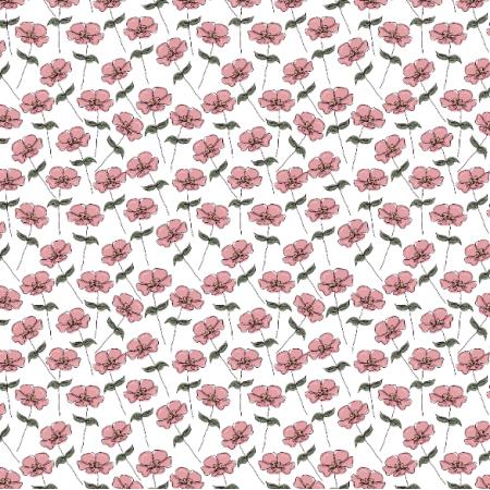 Fabric 26968 | vintage flower III