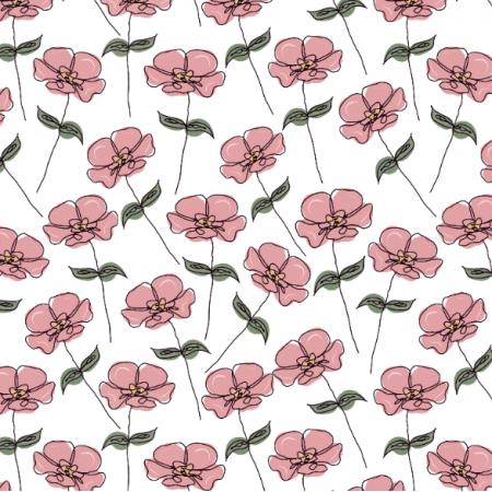 Fabric 26969 | vintage flower IV