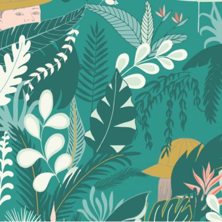 Fabric 27146 | Jungle explorer emerald