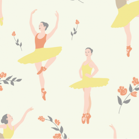 Fabric 27153 | Ballet practice afternoon