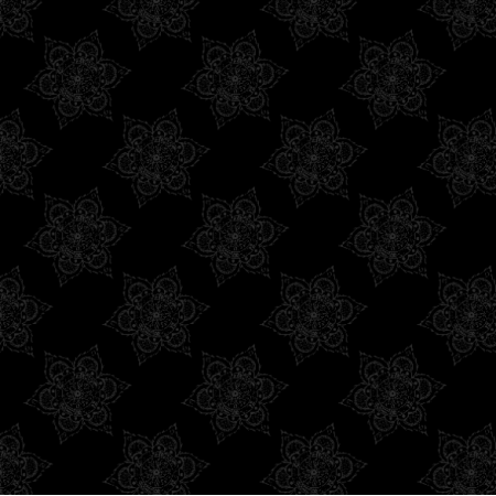 Fabric 27160 | mandala ciemna mała