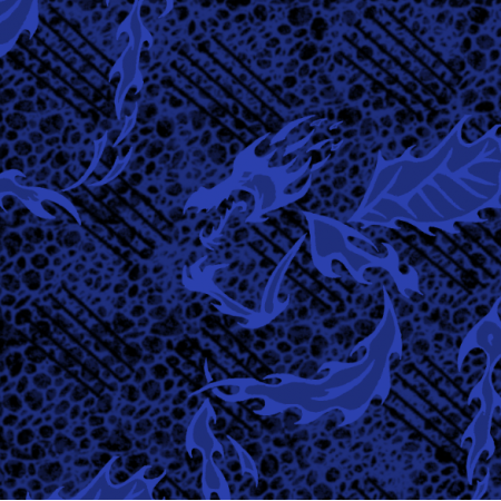 27201 | melanż wariacja smok niebieski duży