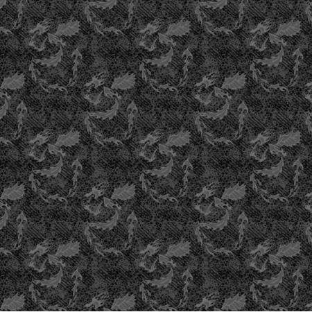 27204 | melanż wariacja smok szary mały