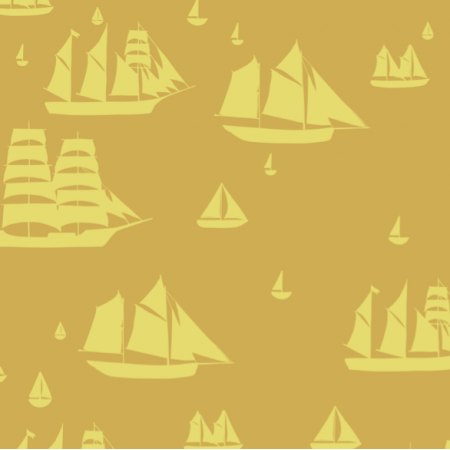 27232 | Parade of Sails mustard