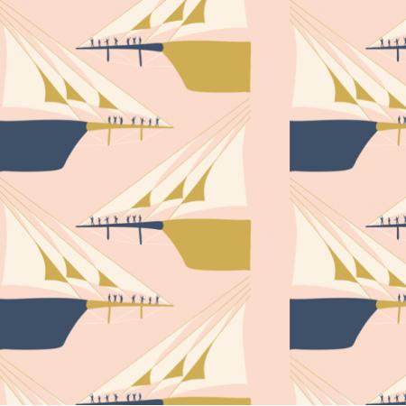 Fabric 27237 | Bowsprit salute admiral