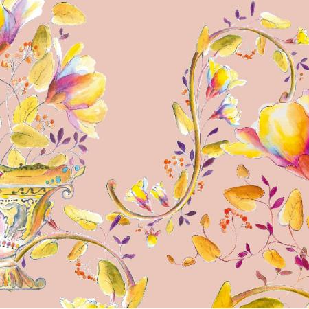 Fabric 27266 | Bogactwo kolorów i wzorów - seria 2