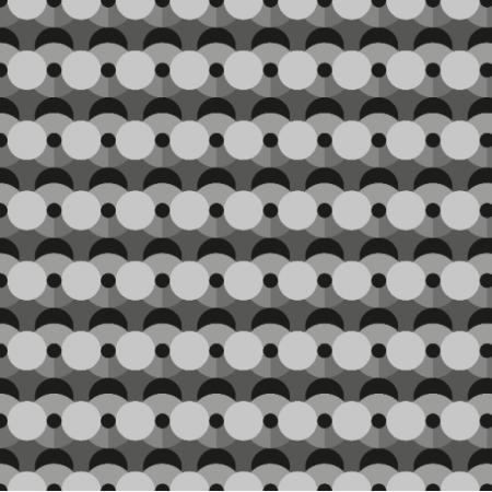 Fabric 27333 | wozr geometryczny, szarości