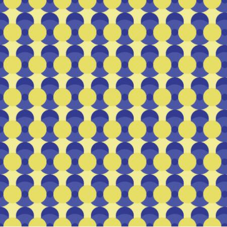 Fabric 27334 | geometryczne wzory, żółty, niebieski0
