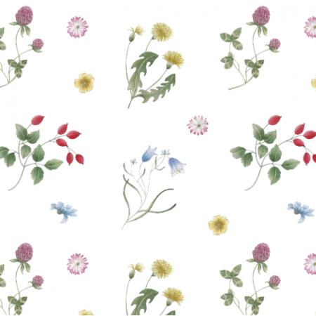 Fabric 27379   Kwiaty polne