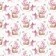 Tkanina 2882 | Blossom, my Deer!