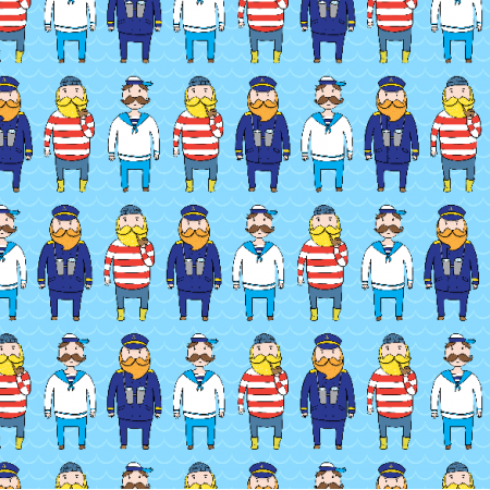 Fabric 2883 | sailors