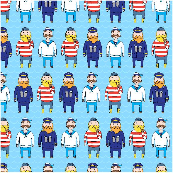 Fabric 2883 | sailors