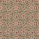 Tkanina 2890 | green and brown ornament