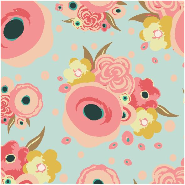 Tkanina 2899 | Springtime