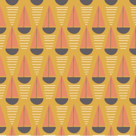 Fabric 27684   sail geometry mustard