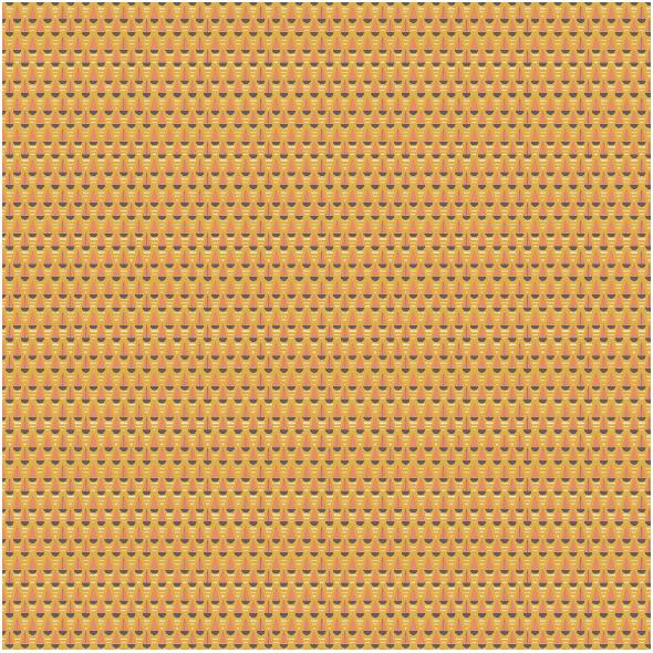 Tkanina 27684 | sail geometry mustard
