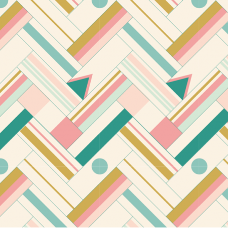 Fabric 27687 | signal flags pink