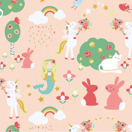 Fabric 2900 | Mermaids and Unicorns