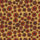 Fabric 27729 | Maki złote