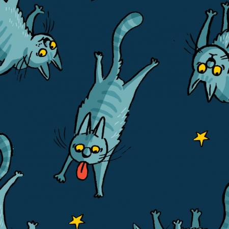 Tkanina 464 | koty