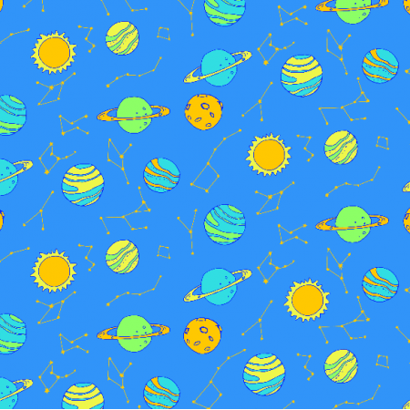 Fabric 2971 | planets