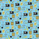 Tkanina 2978 | pirates pattern