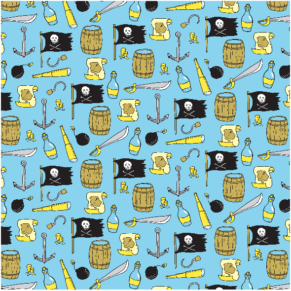 2978 | pirates pattern